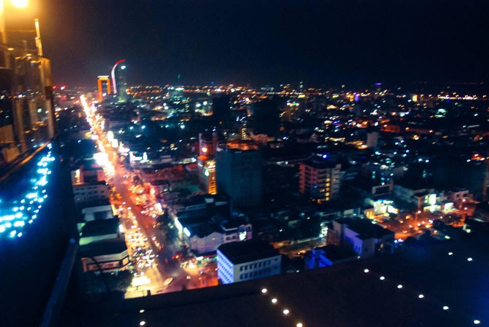 toàn cảnh Phnom Penh về đêm